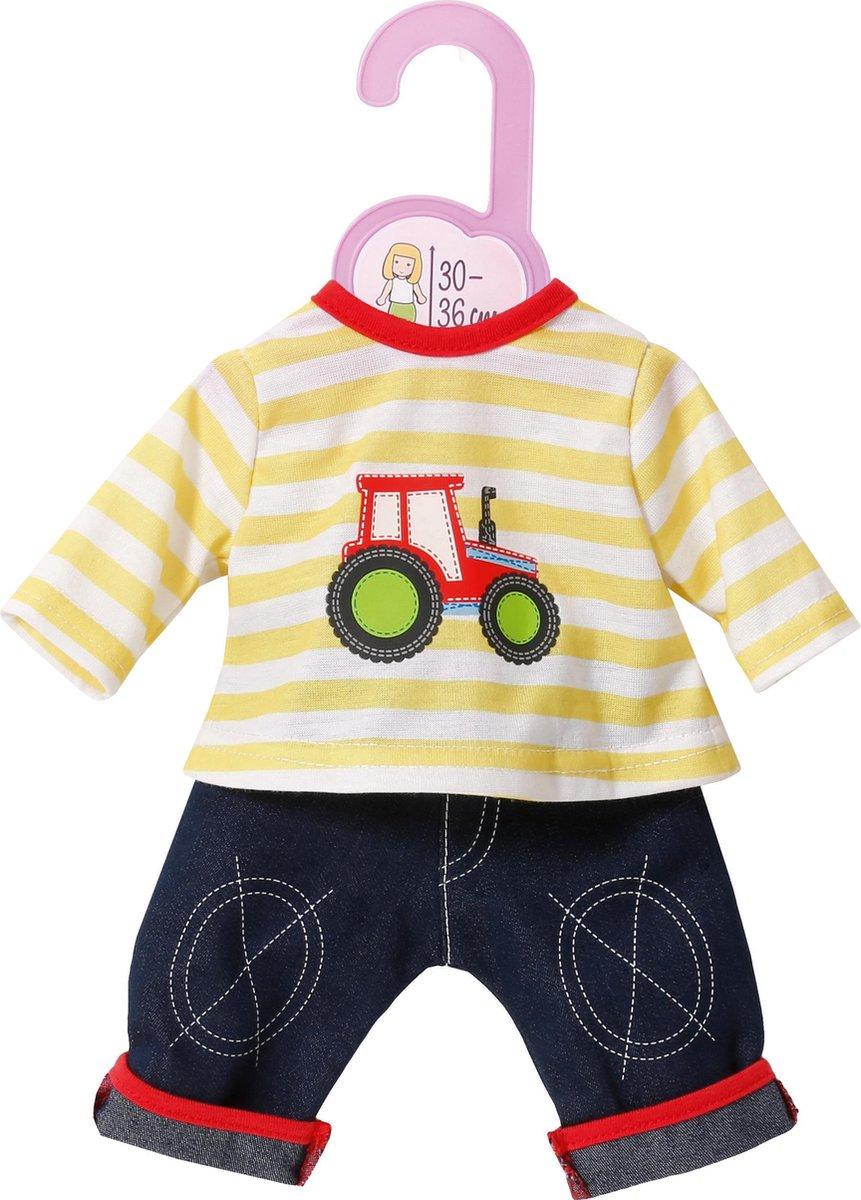 Dolly Moda Broek en Shirt - 30-36 cm - Poppenkleertjes - Dolly Moda