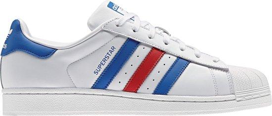 adidas superstar heren blauw