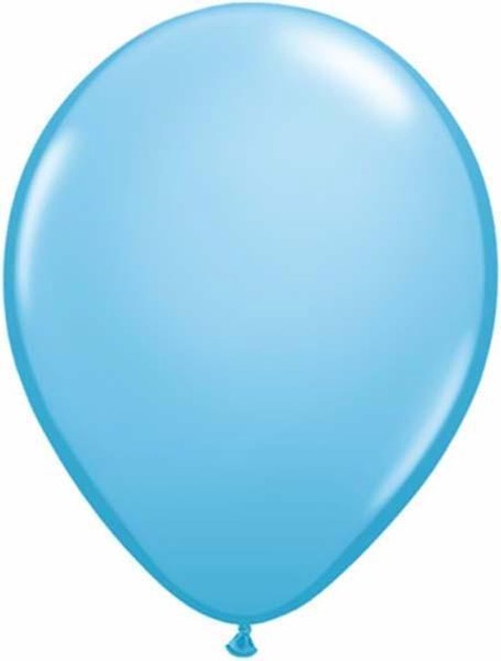 Qualatex ballonnen 100 stuks Pale Blue