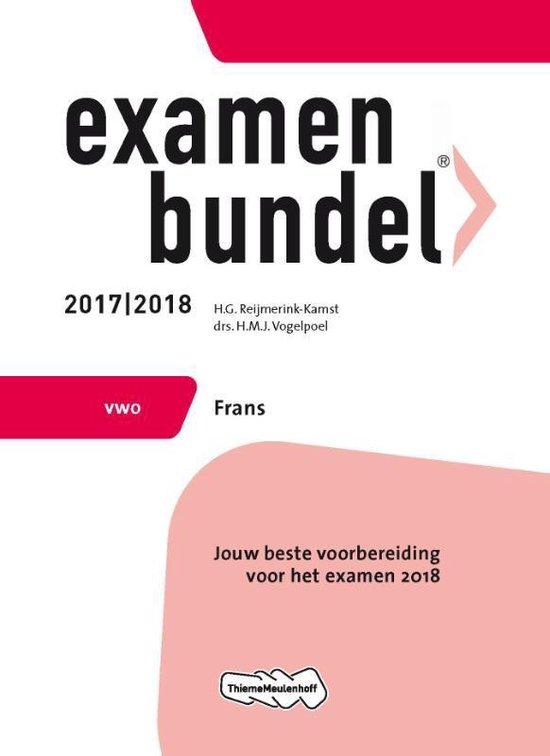 Examenbundel vwo Frans 2017/2018 - H.G. Reijmerink-Kamst pdf epub