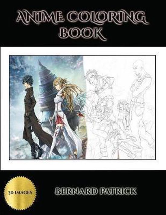 Anime Coloring Book