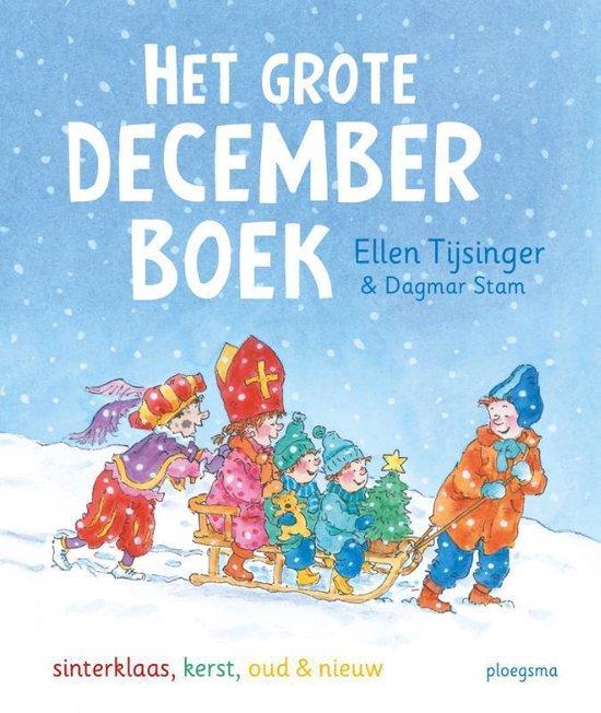 Boek cover Het grote decemberboek van Ellen Tijsinger (Hardcover)