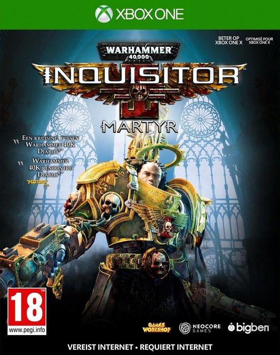 Bigben Interactive Warhammer 40,000 Inquisitor Martyr Basis Nederlands, Frans Xbox One
