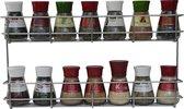 Kruidenrek ophangbaar Coninx voor kruidenpotjes KR 2000 - 2 laags kruidenrekje