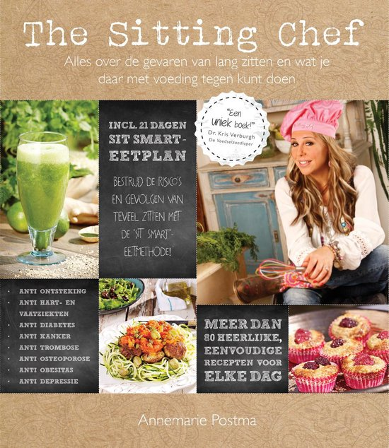 The sitting chef - Annemarie Postma |