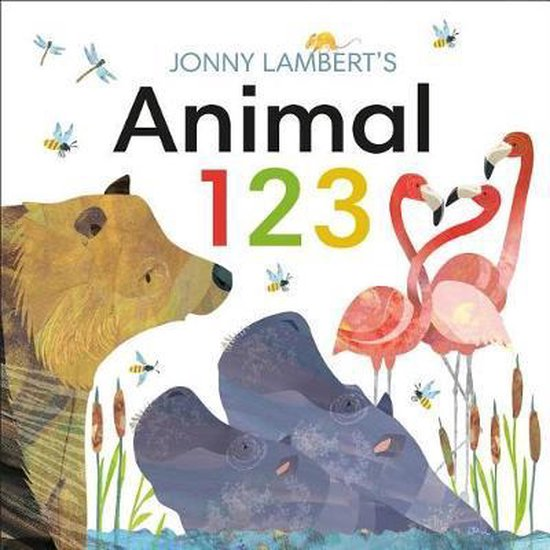 Boek cover Jonny Lamberts Animal 123 van Jonny Lambert (Hardcover)