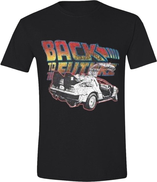 Back to the Future Car T-Shirt XL