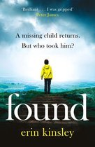 Boek cover Found van Erin Kinsley (Onbekend)