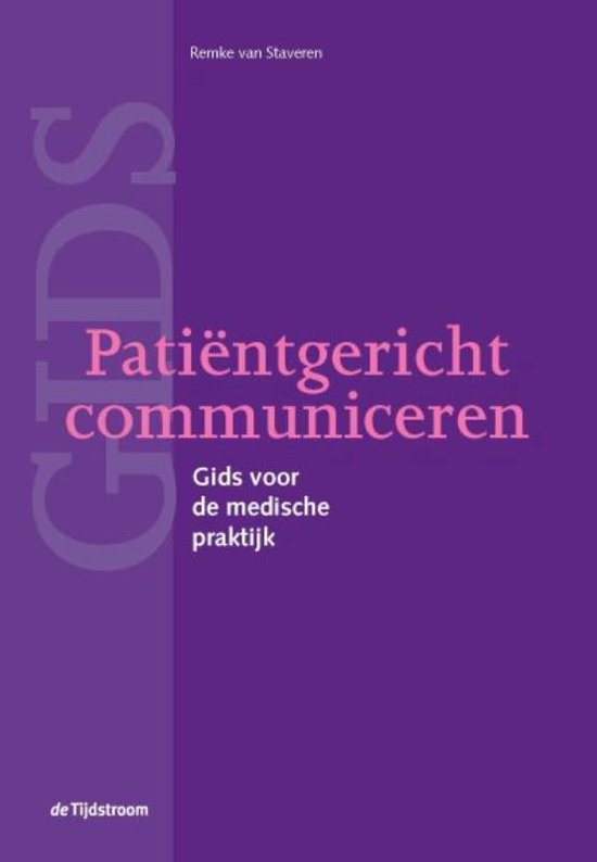 Patiëntgericht communiceren - Remke van Staveren pdf epub