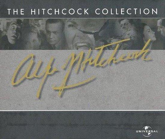 Cover van de film 'Alfred Hitchcock - Hitchcock Box'