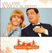 Willeke & Willy Alberti CD ( Popklassiekers ) met boekje Biografie en songteksten