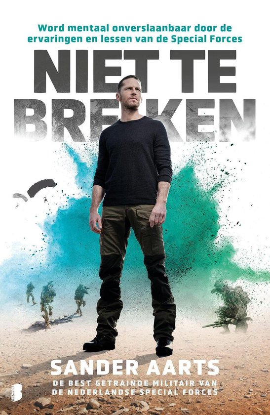 Boek cover Niet te breken van Sander Aarts (Onbekend)