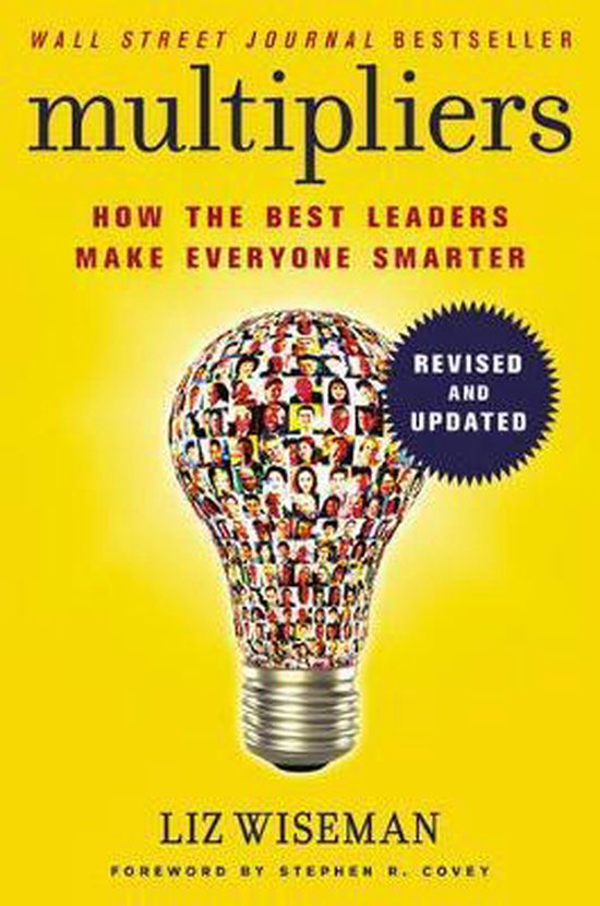 Boek cover Multipliers, Revised And Updated van Liz Wiseman (Hardcover)