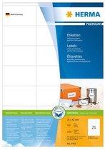 Herma printeretiketten Labels white 70x42 SuperPrint 2100 pcs.
