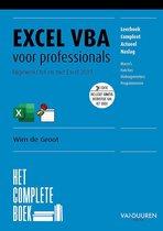 Het complete boek - Het Complete Boek: Excel VBA voor professionals, 3e editie