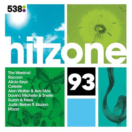 CD cover van 538 Hitzone 93 van Hitzone