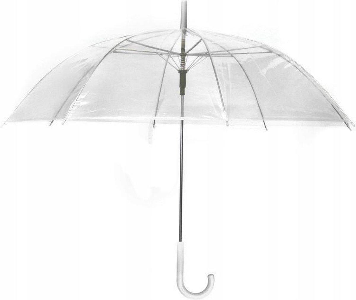 Transparante Opvouwbare Paraplu - Doorzichtige Automatisch Opende Paraplu - Umbrella Opvouwbaar - 8