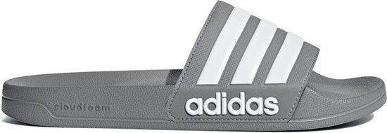 | adidas Adilette Shower slippers grijswit