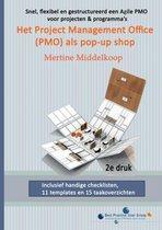 Het project management office (PMO) als pop-up shop