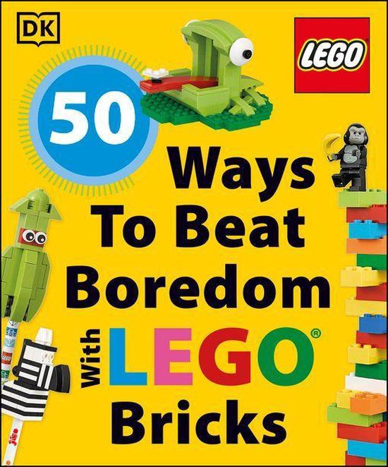 Boek cover 50 Ways to Beat Boredom with LEGO Bricks van Dk (Onbekend)