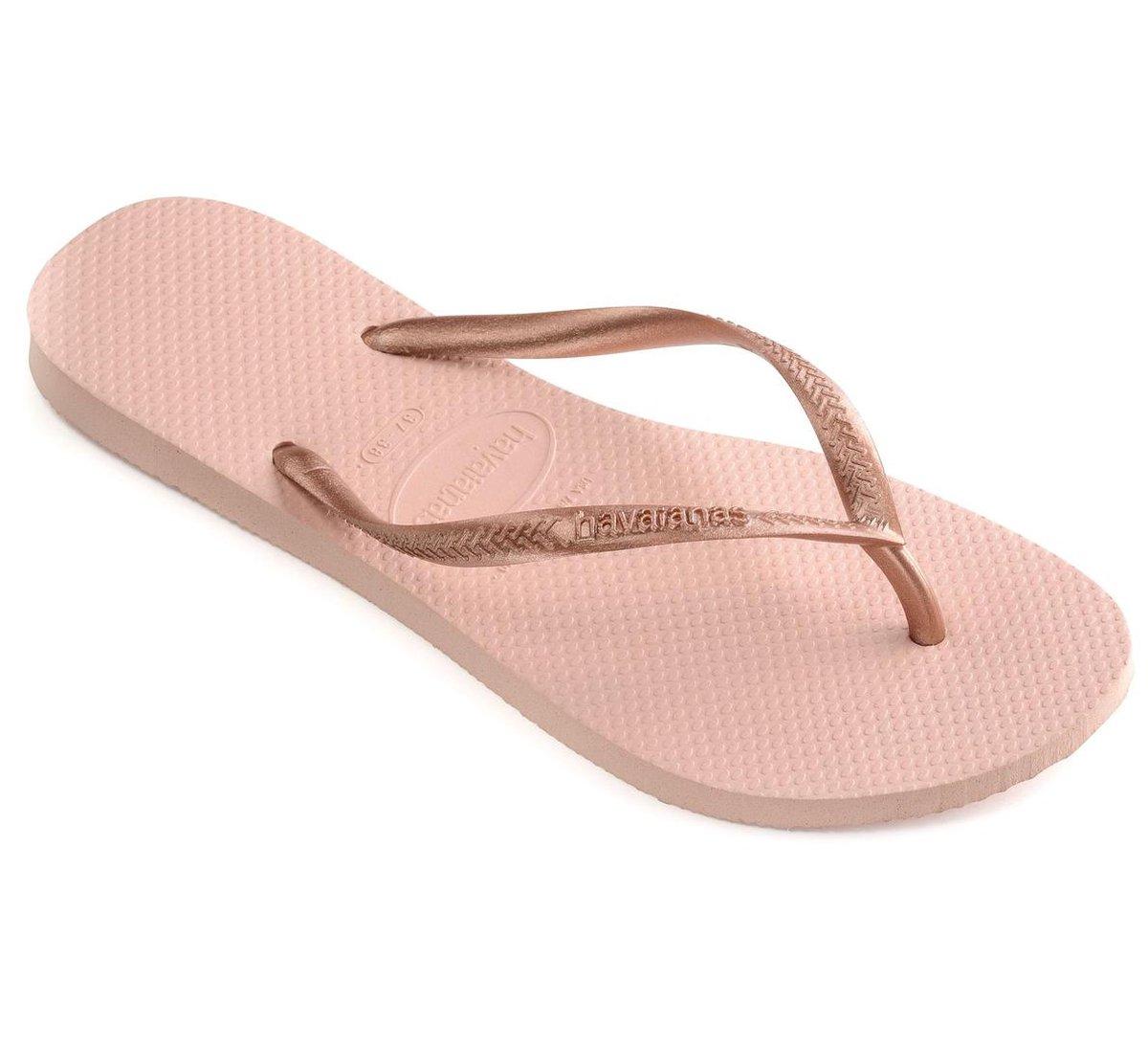 Havaianas Slim Dames Slippers - Ballet Rose - Maat 41/42