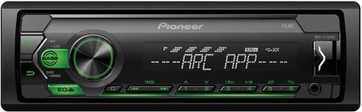 Pioneer MVH-S120UBG Zwart 200 W