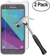 2 pack - Samsung Galaxy J3 2017 Glazen tempered glass / Screenprotector  (0.3mm)