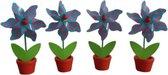 Cosy@home-decoratie windmolentjes-bloempjes