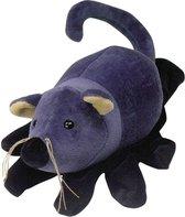 Beleduc Handpop Muis - Zwart   Blauw