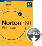 Norton 360 Premium 10-Devices + 75 GB Cloudstorage 1 year
