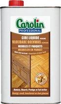 Carolin - Vloeibare Boenwas - Meubelen en Parket - 1Liter - Kleurloos