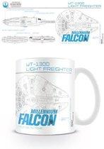 Star Wars Millenium Falcon Sketch - Mok