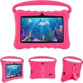 Lipa Veidoo kinder tablet Pink 7 inch - Met spelletjes software - Play store - Ouder controle - IPS scherm met bescherming ogen - Rubberen case