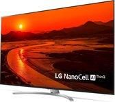 """LG 75SM9900PLA tv 190,5 cm (75"""") 8K Ultra HD Smart TV Wi-Fi Zwart, Zilver"""