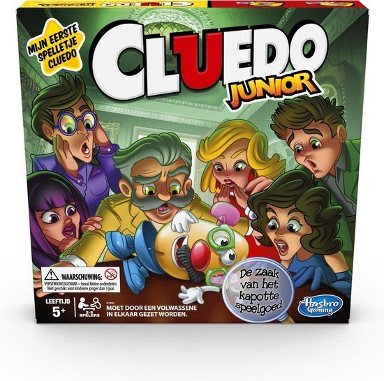 Afbeelding van het spel Cluedo Junior - Bordspel