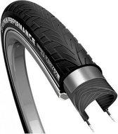 Buitenband 28x1 38 37-622 reflectie cst platinum performance zwart - ZWART