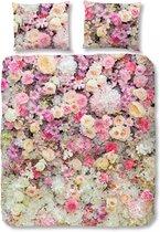 Good Morning 5720-P Bloemen explosie - dekbedovertrek - tweepersoons - 200x200/220 cm  - 100% cotton - roze