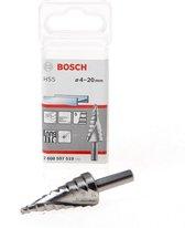 Bosch - Trappenboren HSS 4 - 20 mm, 8,0 mm, 70,5 mm
