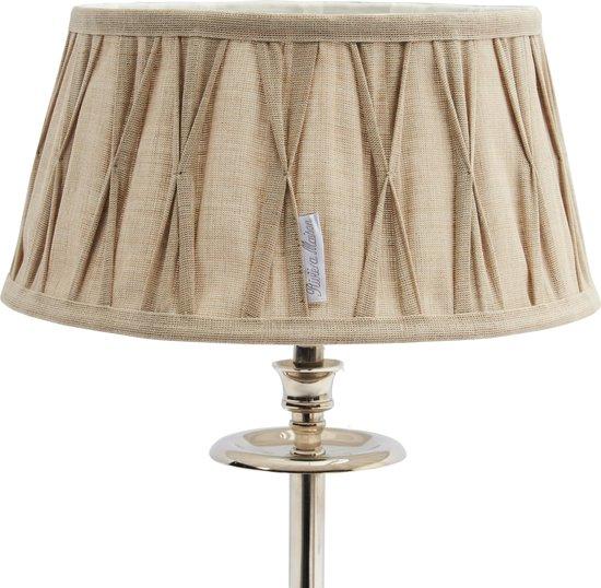 Riviera Maison Cambridge Lamp Shade - Lampenkap - 23 x 30 cm - Linnen - Naturel