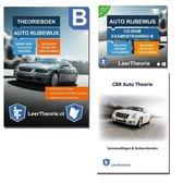Auto Theorieboek 2021 met Auto Theorie Oefen CD en Auto Theorie Boek Samenvatting - Rijbewijs B - CBR Auto Theorie Leren