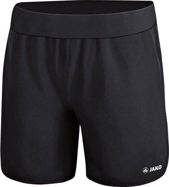 Jako Run 2.0 Short Dames - Zwart   Maat: 40