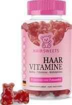 HairSweets Haar Vitamines Multivitamine Biotine - 60 gummies voor 2 Maanden