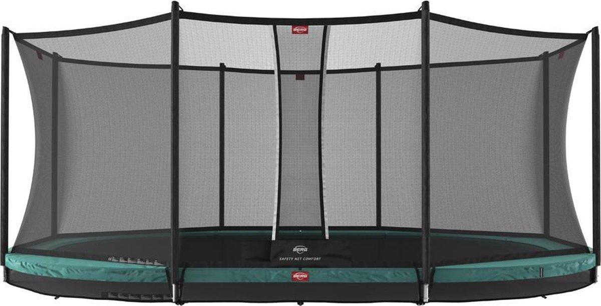 BERG trampoline Grand Favorit Inground 520 + Safety Net Comfort