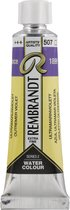 Rembrandt Water Colour Tube 10ml | Ultramarine Violet (507)
