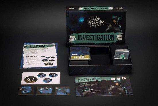 Afbeelding van het spel Sub Terra: Investigation – uitbreiding