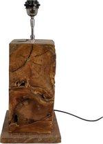HSM Collection Tafellamp - teak - naturel