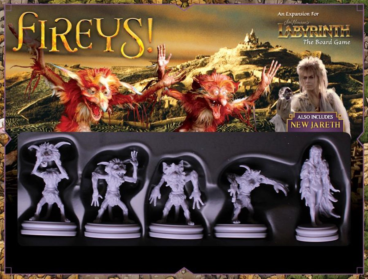 Labyrinth the boardgame - Fireys! (Engels)