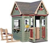 Backyard Discovery speelhuis Victorian Inn - Houten Speelhuisje met complete speelkeuken