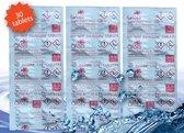 WaterRower NOHrD Puritabs Chloortabletten Roeimachines Voordeelset 3x 10 tabletten