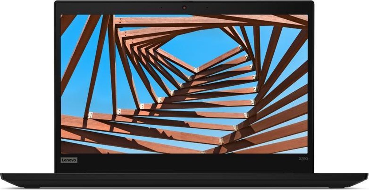 """Lenovo ThinkPad X390 Notebook 33,8 cm (13.3"""") 1920 x 1080 Pixels Intel® 8de generatie Core™ i5 8 GB DDR4-SDRAM 256 GB SSD Wi-Fi 5 (802.11ac) Windows 10 Pro Zwart"""